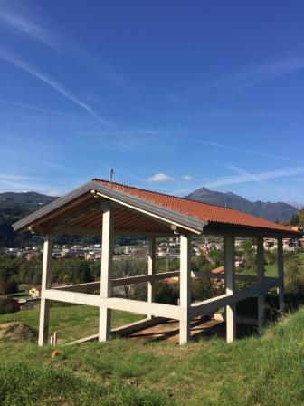 Tra cornedo e valdagno casa singola al grezzo con oltre 6 for Platea per casa in legno