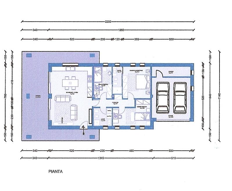 A cereda e cornedo soluzioni di case singole o bifamiliari for Case di livello tri